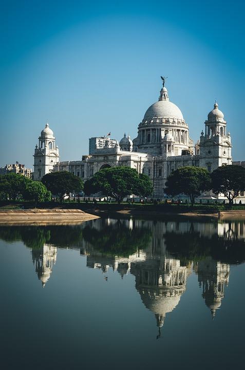 Monument, White, Blue, Sky, Heritage, Reflection