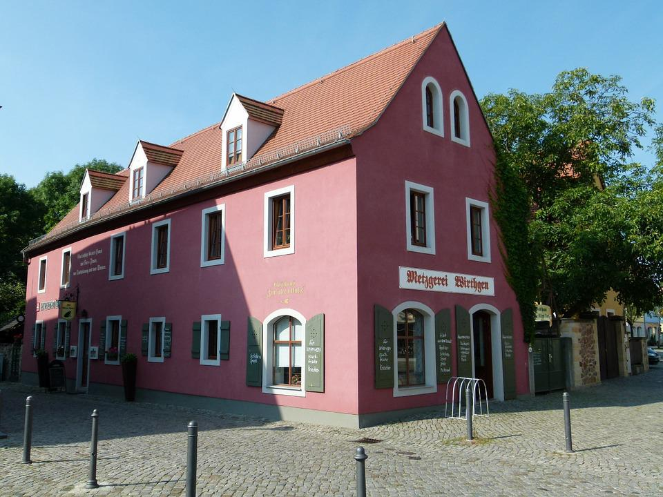 Radebeul, Cultural Heritage, Monument, Building, Square