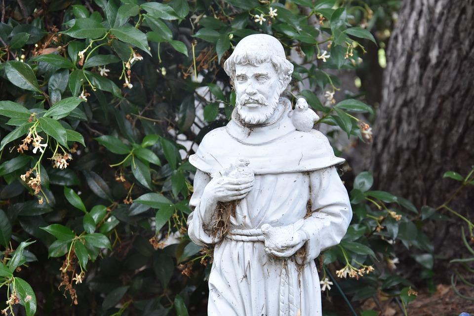 St Francis, Statue, Religious, Religion, Monument
