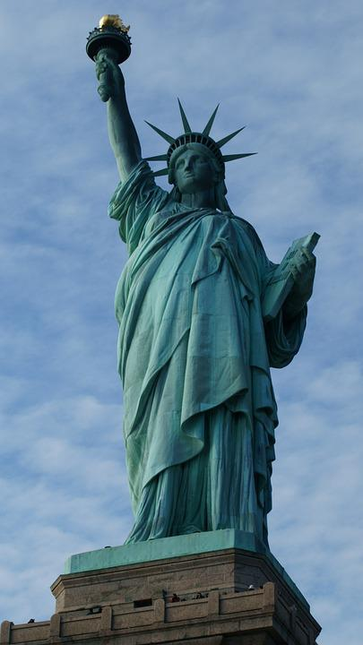 Statue, Monument, Statue Of Liberty, Freedom, Usa