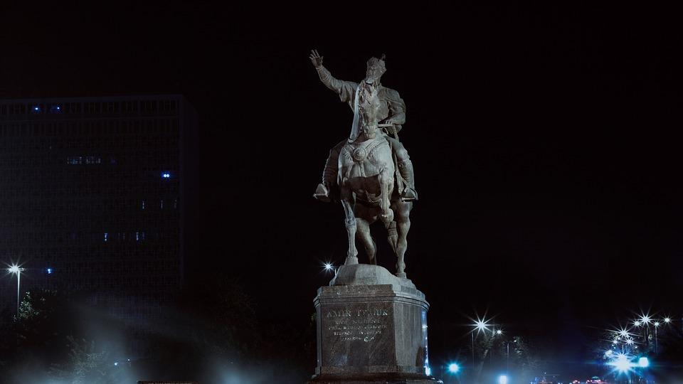 Tashkent, 2017, Uzbekistan, Tamerlane, Monument