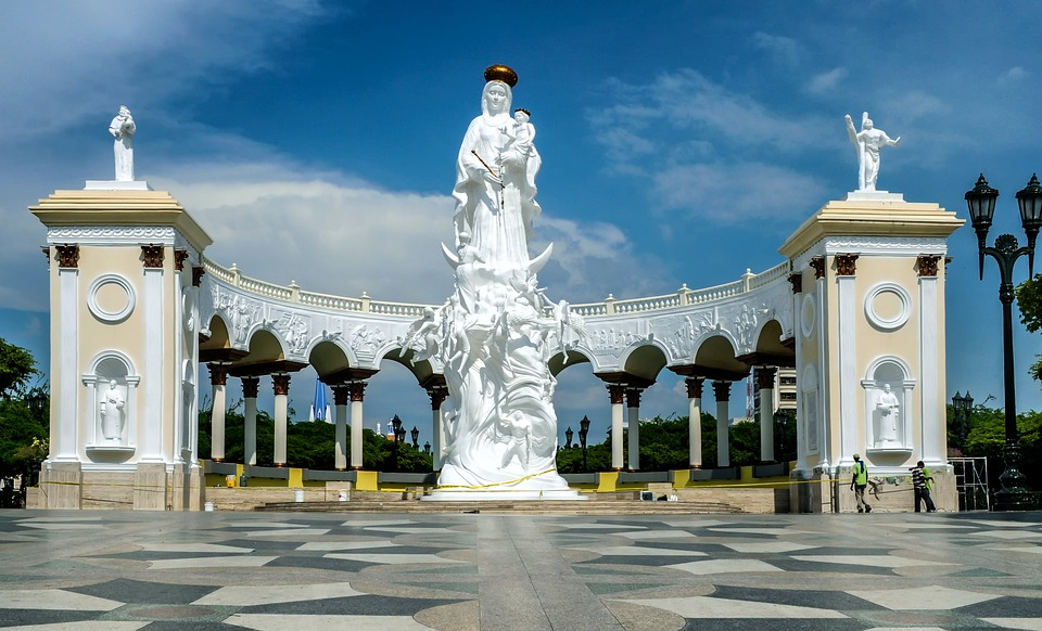 Monument To The Virgin, Maracaibo, Venezuela, Religion