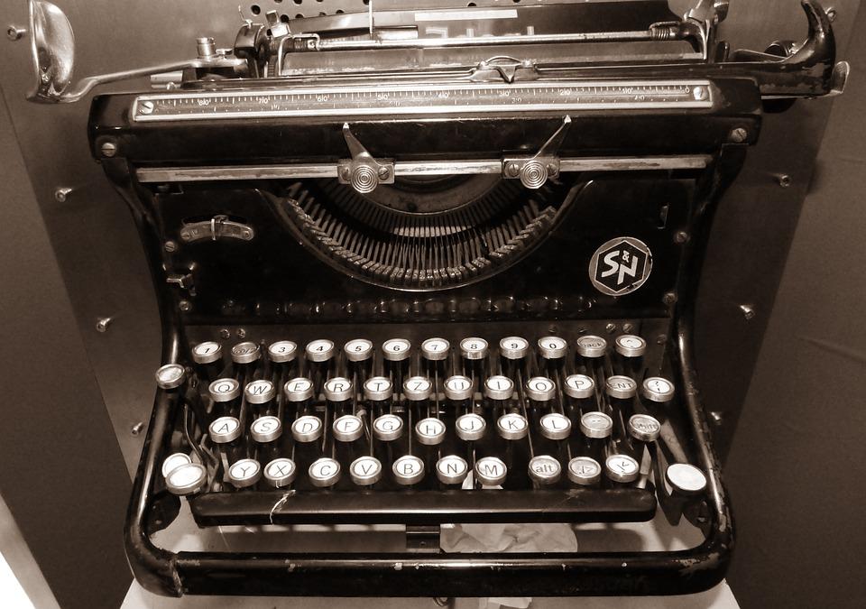 Machine, Writing, Writer, Book, Monument, Typewriter