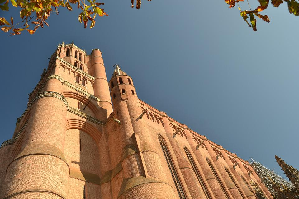Albi, France, Cathedral, Monuments, Old Building
