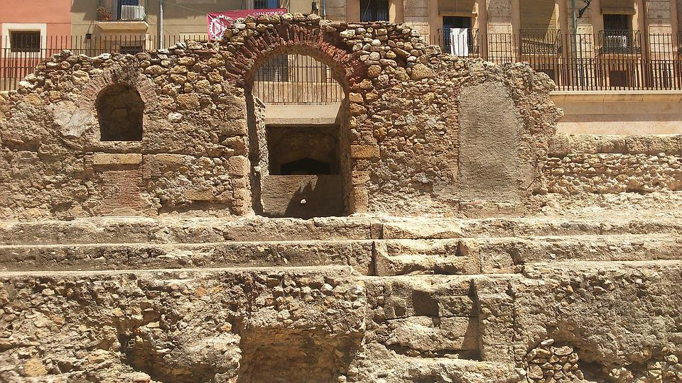 Ruins, Tarragona, Roman, Monuments, Spain, Architecture