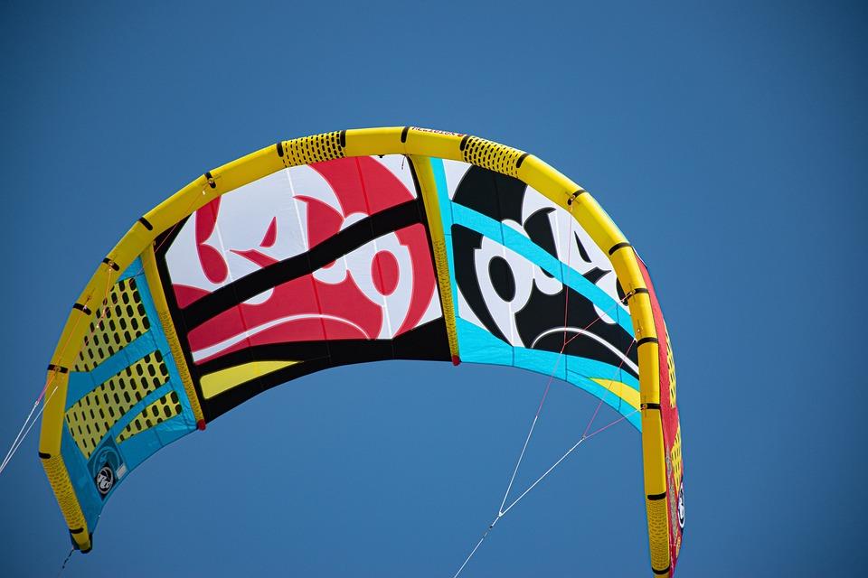 Sky, Wind, Surf, Blue, Mood, Air, Sport, Kite, Colorful