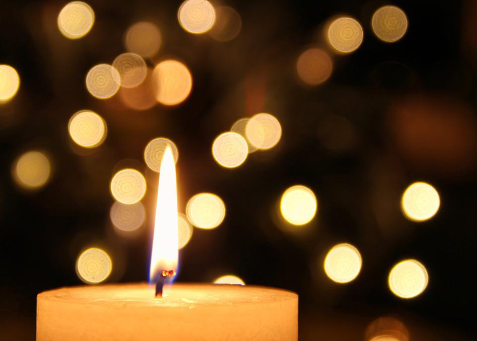 Candle, Bokeh, Mood, Candlelight, Christmas Candles