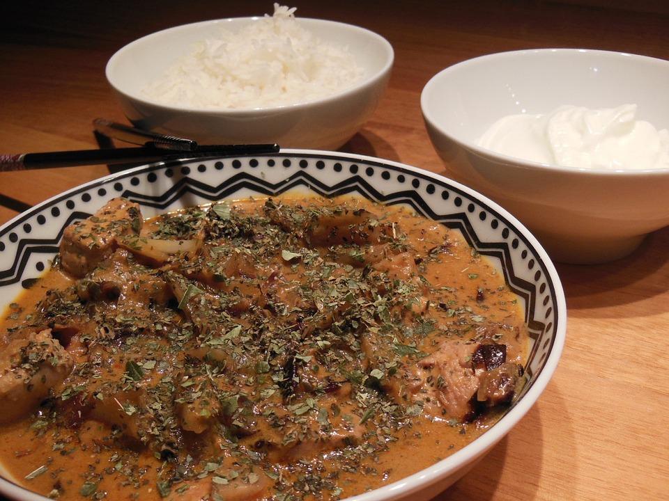 Rice, Evening, Eat, Thai, Mood, Atmosphere