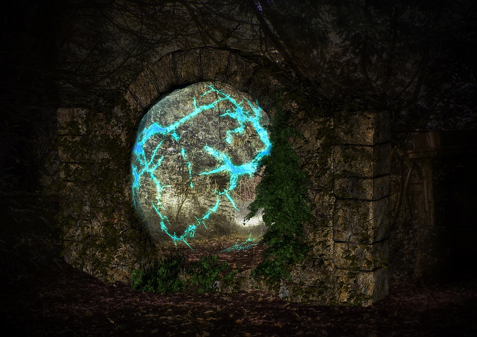 Stone Gate, Fantasy, Ruin, Mood, Cultural Sites
