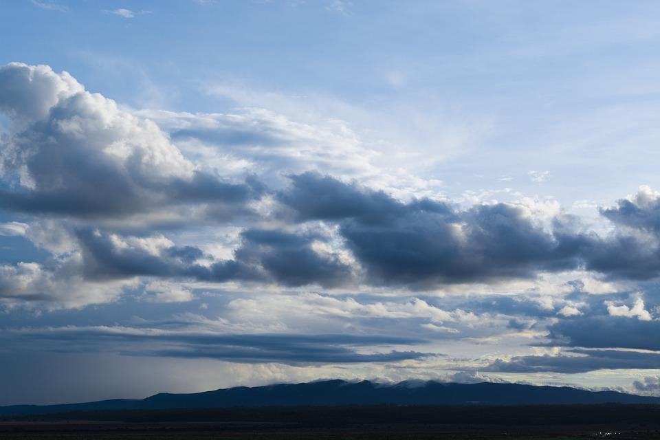 Sky, Sun Set, Clouds, Evening, Still, Panorama, Mood