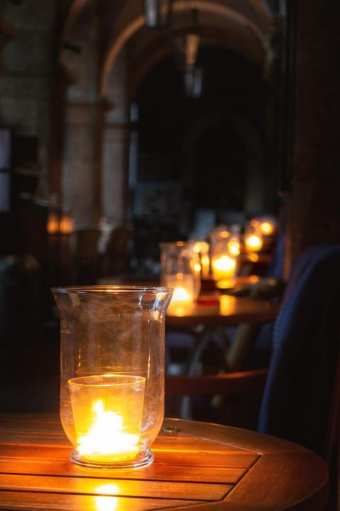 Candles, Table, Mood, Candle, Light, Candlelight