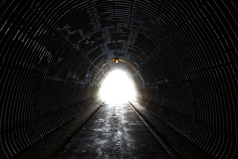 Tunnel, Light, Shadow, Mystical, Landscape, Mood
