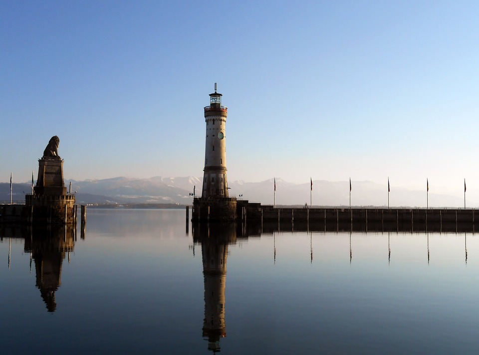 Lake Constance, Water, Lindau, Nature, Mood, Lake, Sky