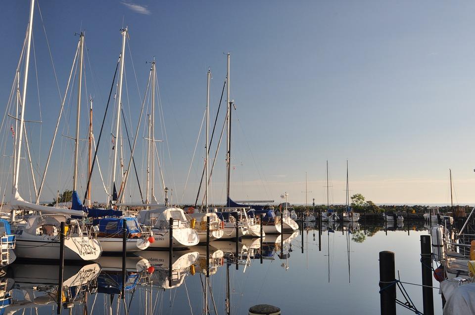 Port, Sailing Boats, Water, Sail, Yachts, Mood