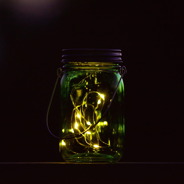 Lights In A Glas, Ambilight, Glas, Moody, Fairy Lights