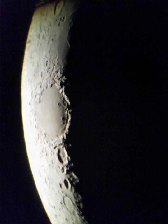 Moon, Craters, Dark, Astronomy, Celestial Body, Lunar