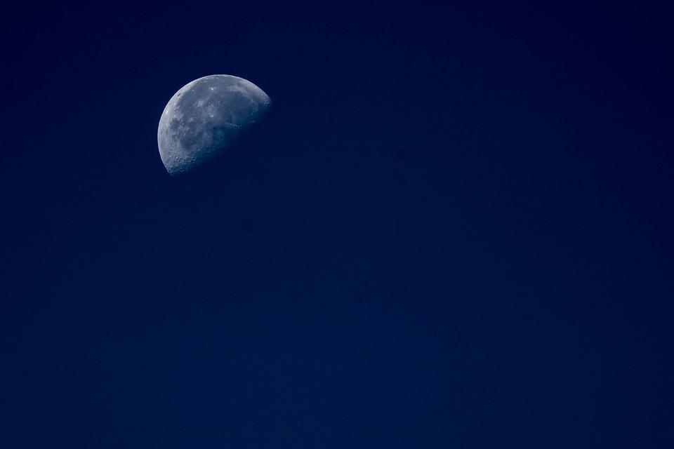 Moon, Night, Moonlight, Dark, Fantasy, Midnight