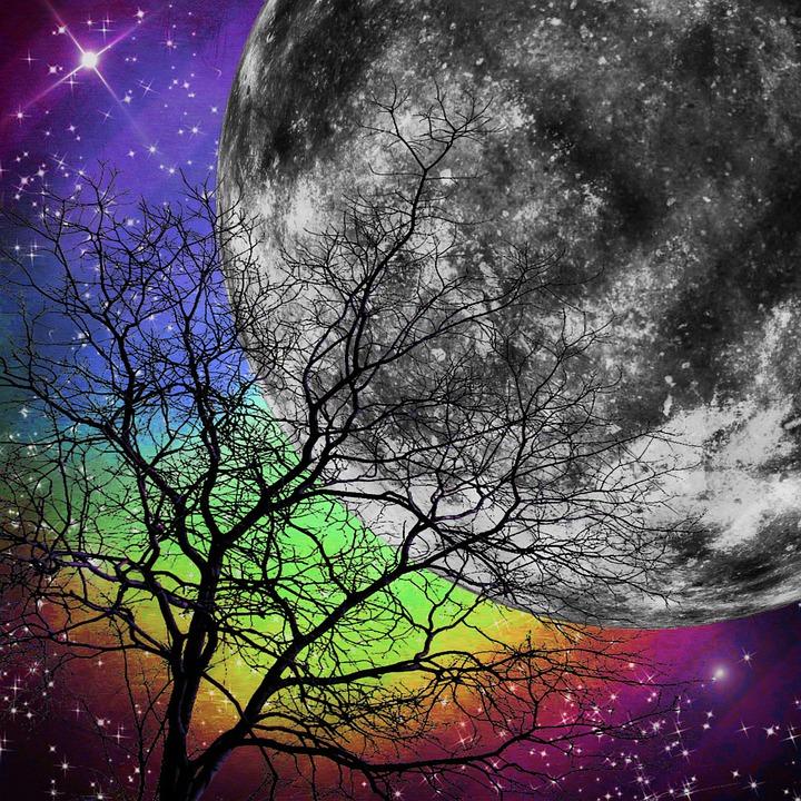 Fairytale, Fantasy, Dream, Mystical, Surreal, Moon