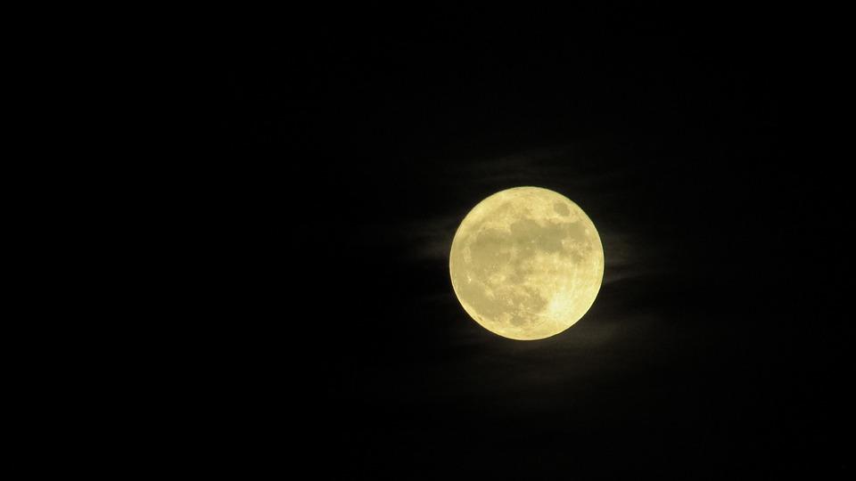 Super Moon, Moon, Full, Super, Night, Astronomy, Lunar