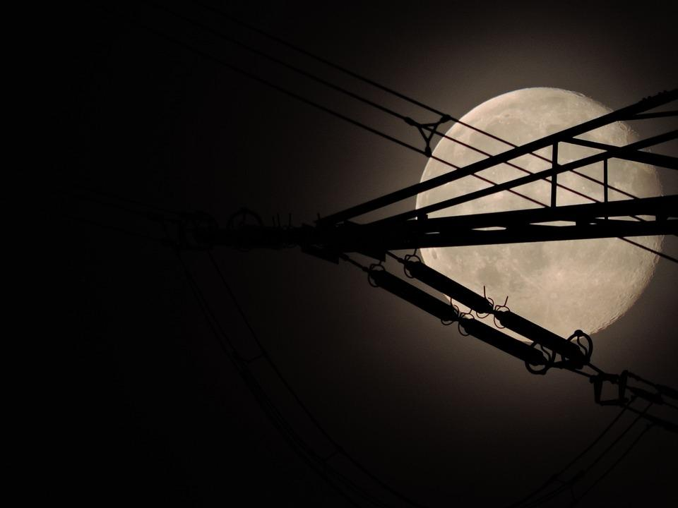 Moon, Sky, Night, Moonlight, Mood, Full Moon, Night Sky