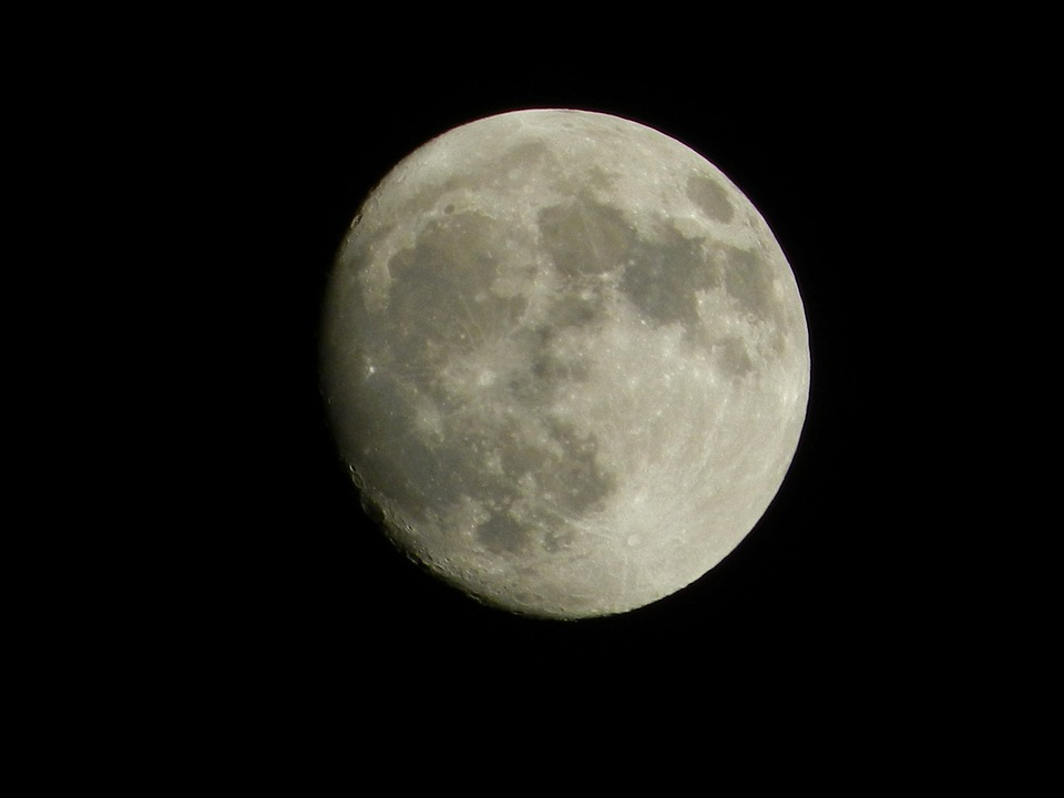 Moon, Nature, Moon By Night, Night, Beauty, Crater