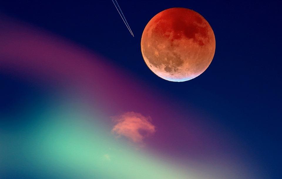 Moon, Travel, Universe, Sky, Fantasy, Atmosphere