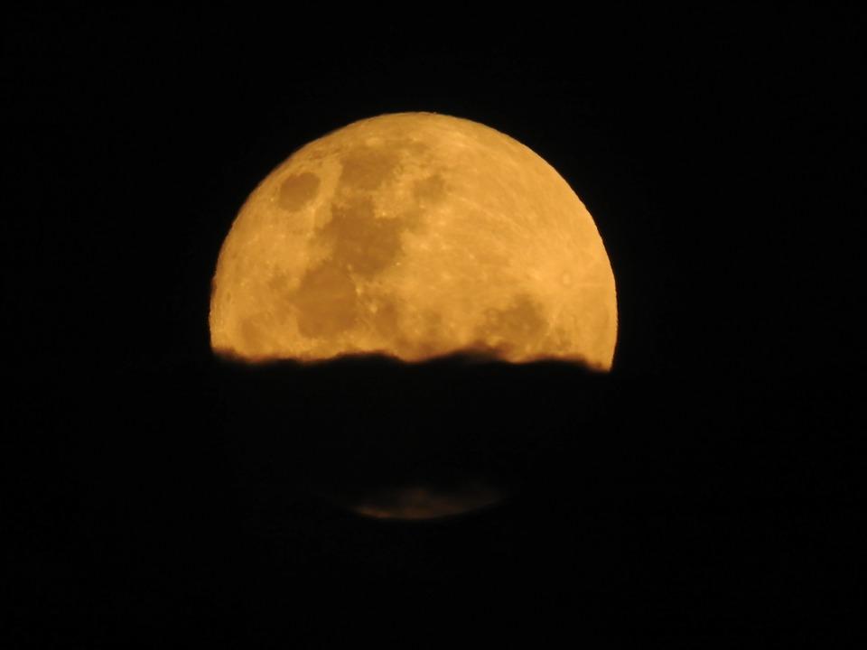Moon, Night, Moonlight
