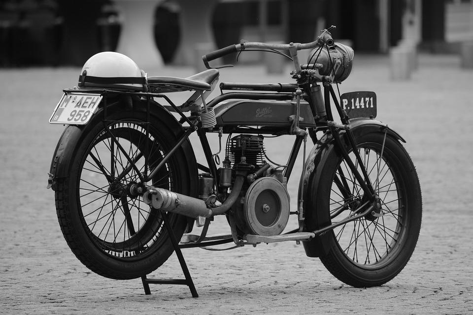 Moped, Moto, Bicycle, Oldtimer, Vehicle, Gilet, Vintage