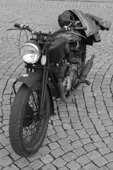 Moped, Moto, Bicycle, Oldtimer, Vehicle, Vintage