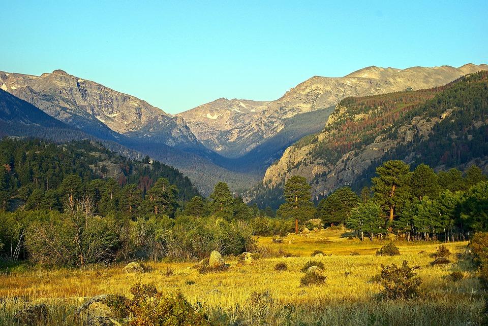 Moraine Park, Mountains, Moraine, Rocky, Mountain
