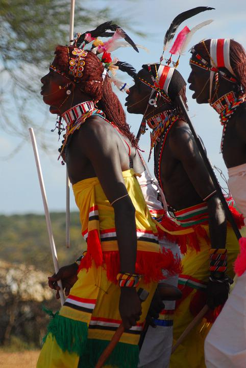 Samburu, Tribe, Kenya, Moran, Ceremony, Africa, Wedding