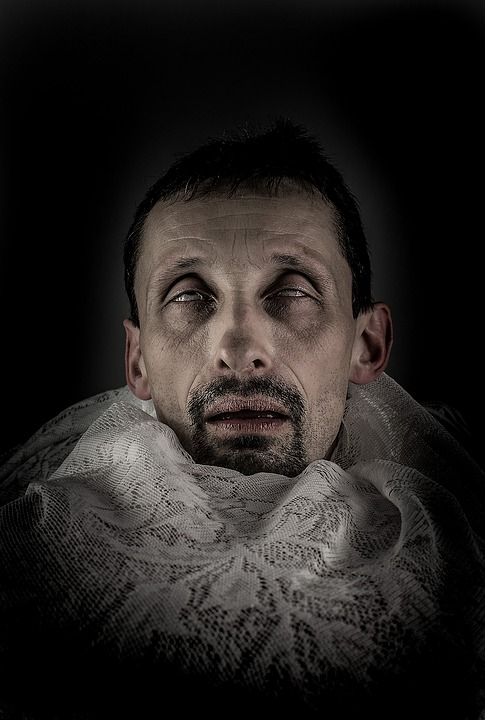 Men's, People, Portrait, A, Adult, Morbid, Old, Skin