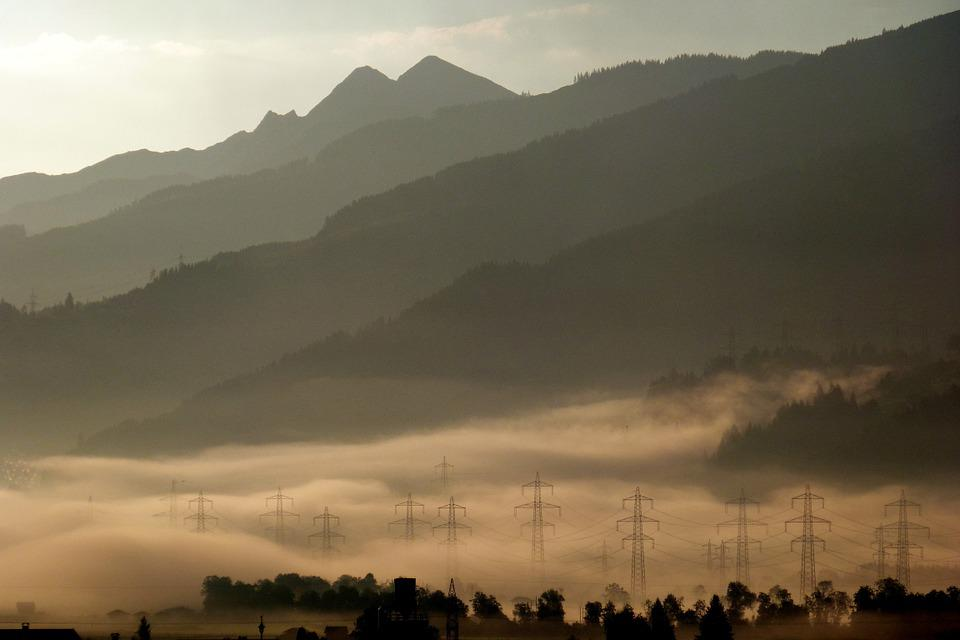 Morgenstimmung, Fog, Autumn, Haze, Nature, Landscape