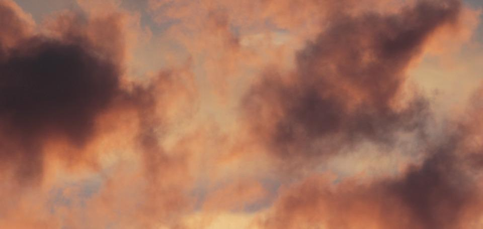 Clouds, Sky, Nature, Morgenrot, Morgenstimmung, Dawn