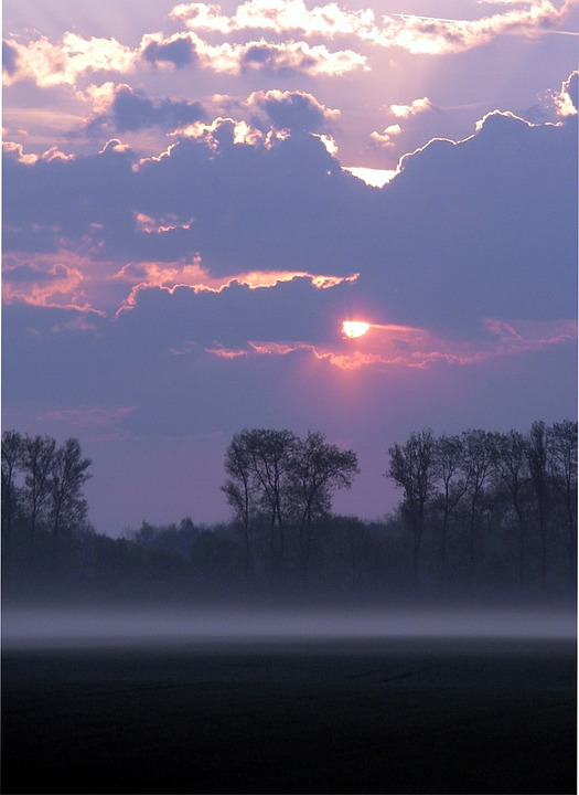 Morgenstimmung, Morning Mist, Sunrise, Autumn