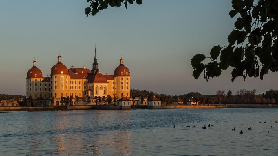 Castle, Moritz Castle, Autumn, Saxony