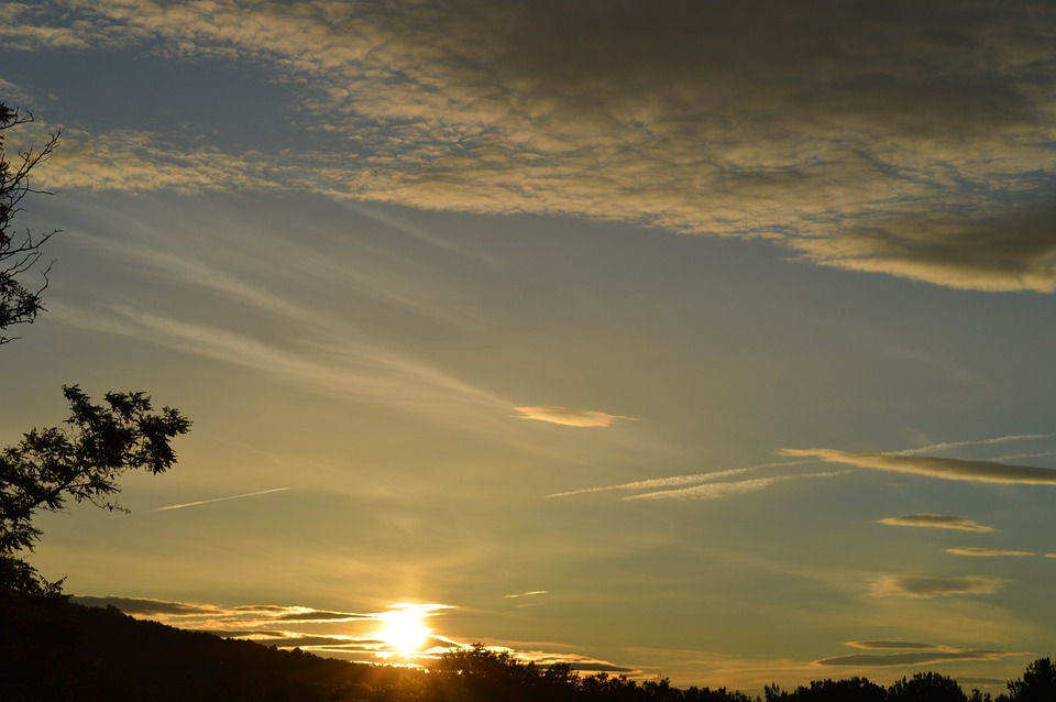 Sky, Cloud, Sunrise, Landscape, Morning
