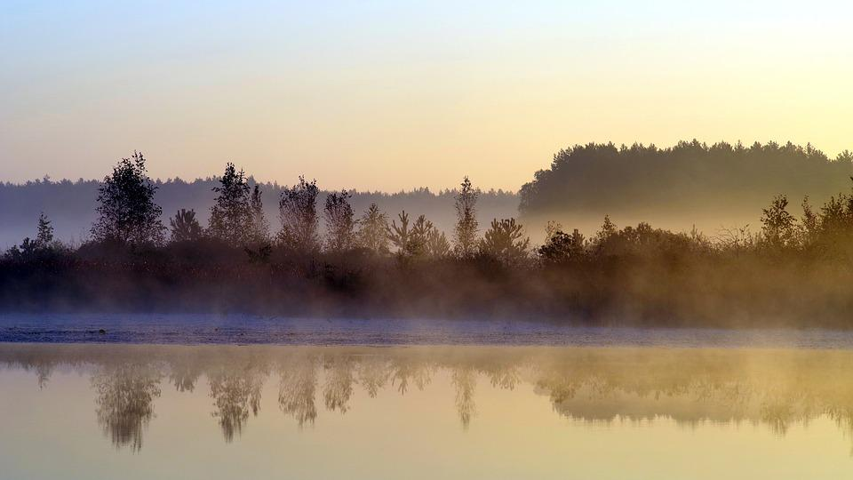 Morning, Dawn, Landscape, In The Morning, The Silence