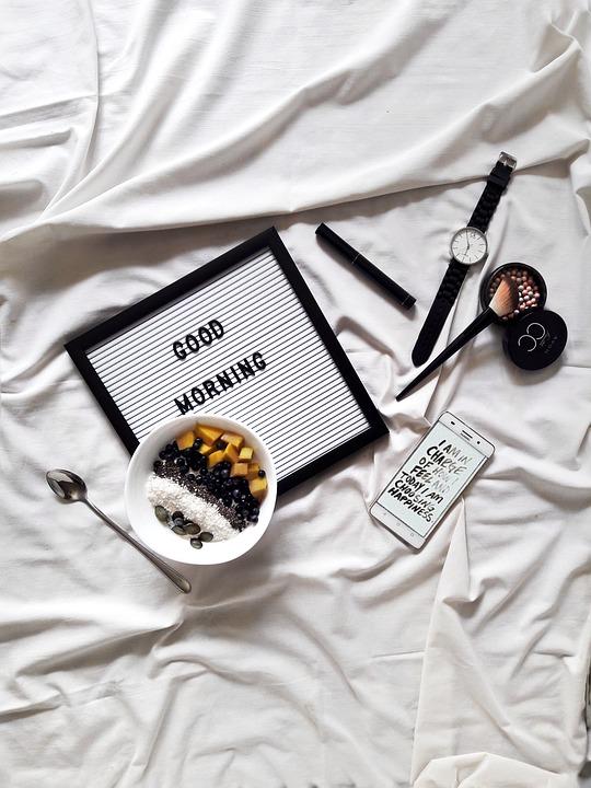 Morning, Breakfast, Food, Smoothie, Instagram, Girls