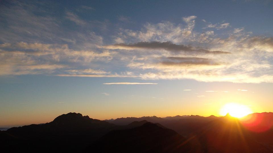 Sunrise, Jochberg, Morning