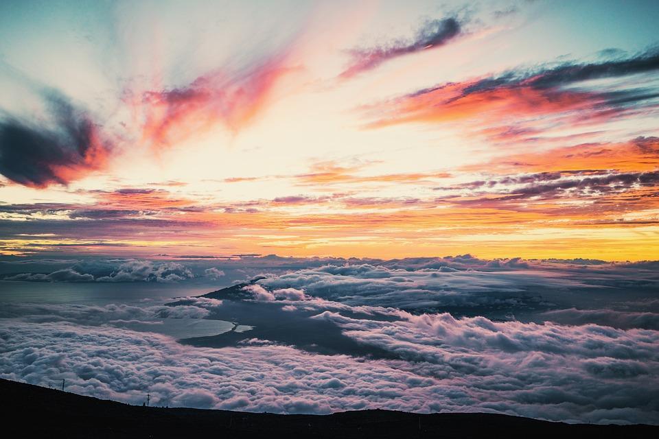 Sun, Sunrise, Beach, Morning, Sky, Nature, Landscape