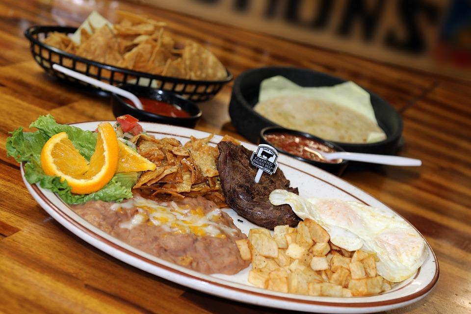 Breakfast, Meal, Morning, Restaurant, Tasty, Plate
