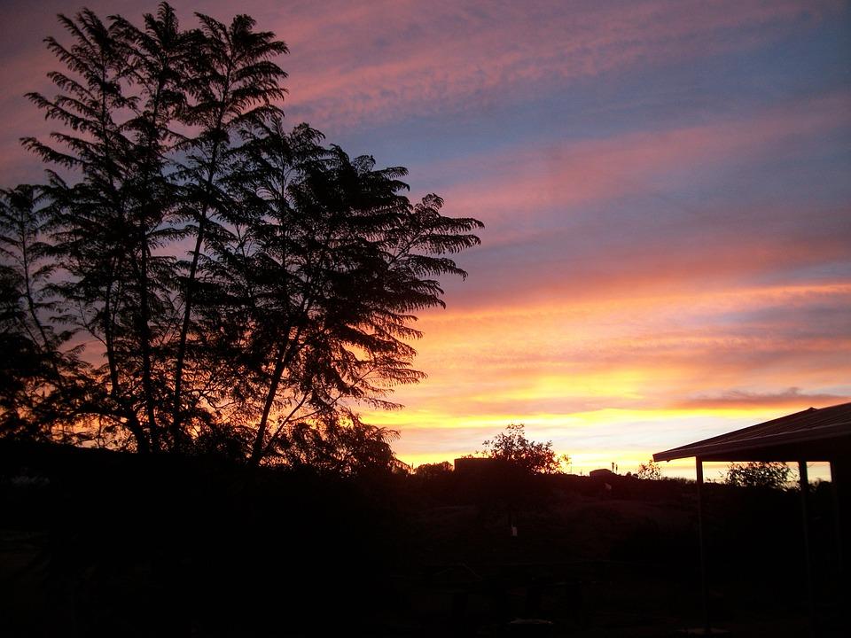 Sunrise, Morning, Clouds, Nature, Landscape, Outdoor