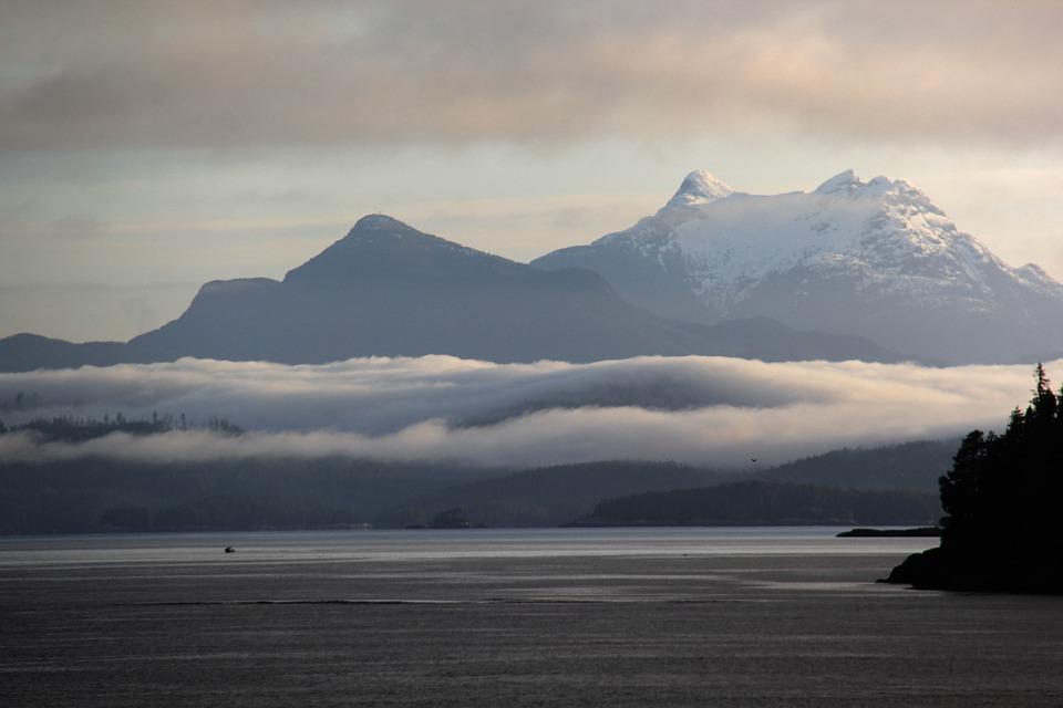 Layer Of Fog, Alaska Morning, Morning Sight