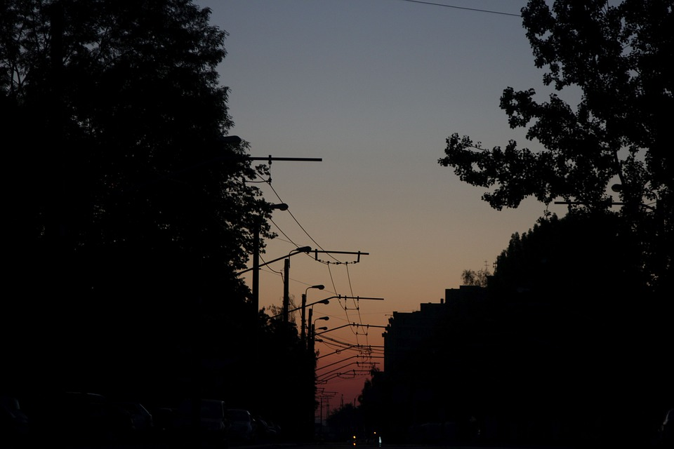 Morning, Dawn, Sunrise, Sky, Outdoor, Trees