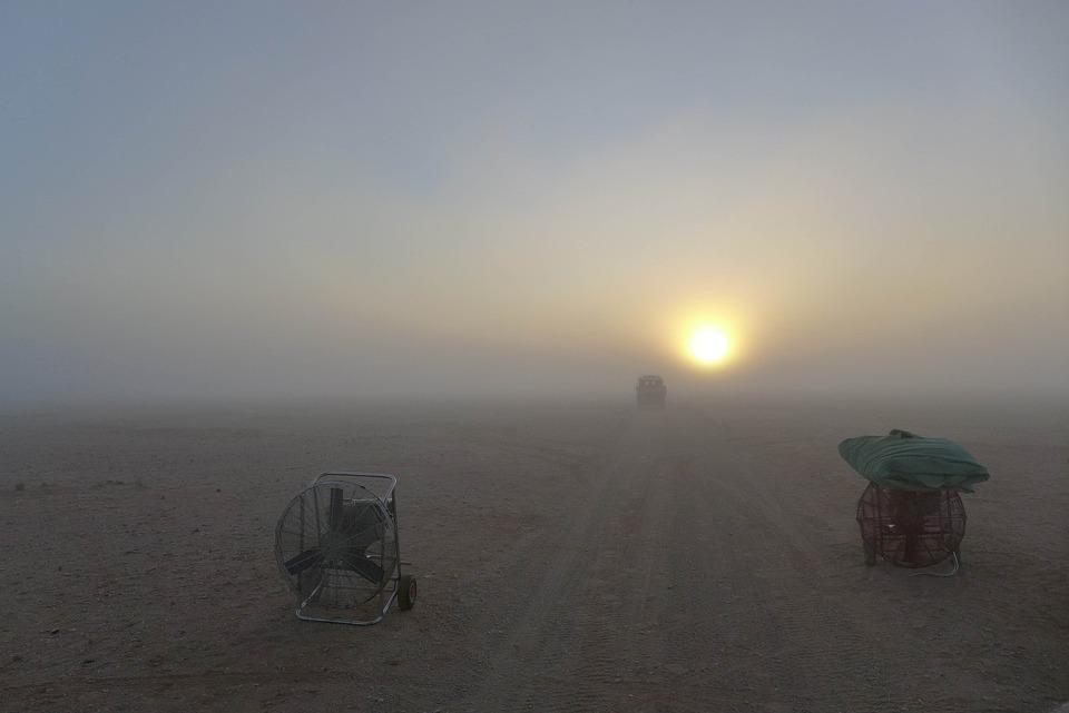 Daybreak, Sunrise, Desert, Morning
