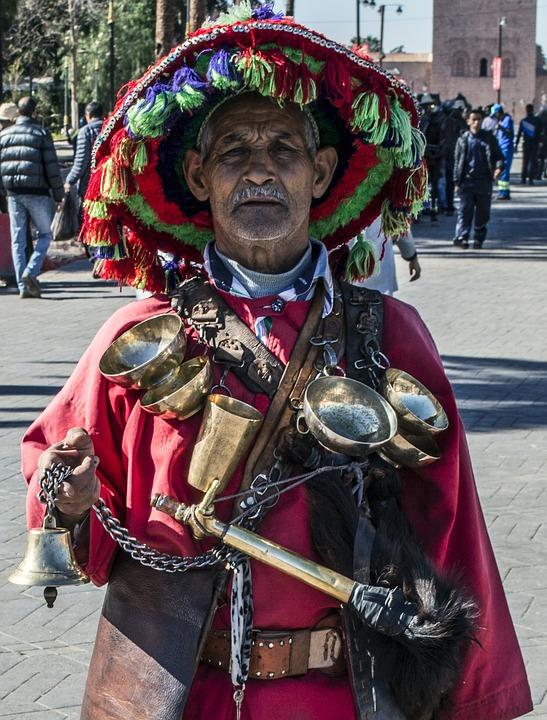 Berber, Tribesman, Marrakesh, Morocco, Moroccan