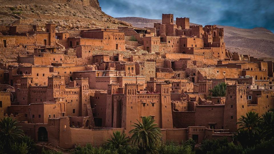 Morocco, Ait-ben-haddou, Wilderness, City