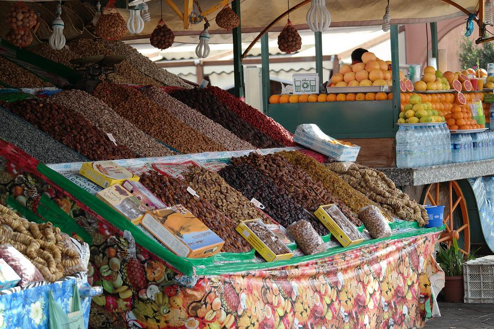 Marrakech, Morocco, Traditional, Tourism, Market