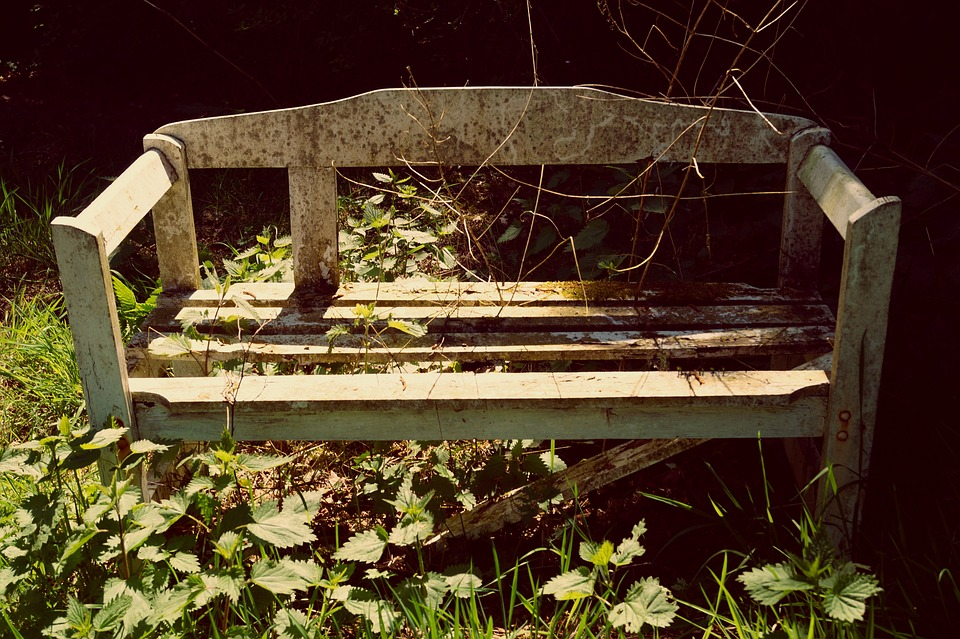 Bank, Bench, Wooden Bench, Seat, Decay, Morsch, Lapsed